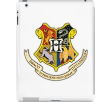 Hogwarts School Of Witchcraft and Wizadry Crest iPad Case/Skin