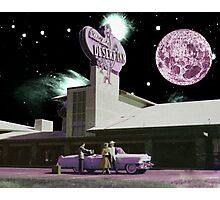 Moon day Photographic Print