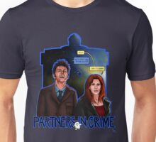 Partners In Crime Doctor Who Tenth Doctor Donna Noble David Tennant Catherine Tate #DTfan4life  Unisex T-Shirt