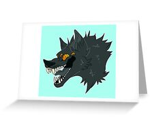 Happy Woof ! Greeting Card