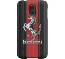 Ferrari Lover #3 [Silver - Red] Samsung Galaxy Case/Skin