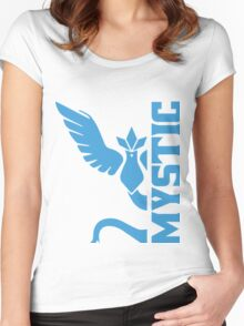 Vertical Team Mystic Women's Fitted Scoop T-Shirt