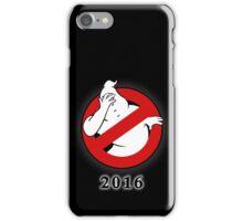 Ghostbusters Facepalm iPhone Case/Skin