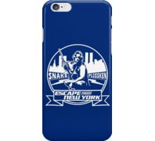 Snake Plissken (Escape from New York) Badge Transparent iPhone Case/Skin