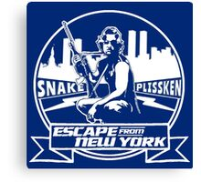 Snake Plissken (Escape from New York) Badge Transparent Canvas Print