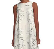 All Substances Radiate Energy A-Line Dress