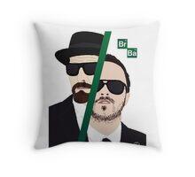 BrBa (Breaking Bad) Throw Pillow