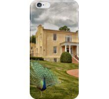 A Peacock at Beallair iPhone Case/Skin
