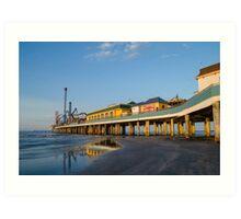 Galveston Pleasure Pier #2 Art Print