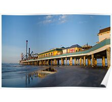 Galveston Pleasure Pier #2 Poster