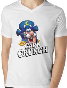Capn Crunch Mens V-Neck T-Shirt