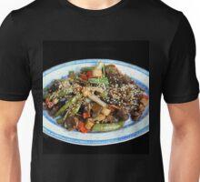 Asian Stir Fried Sea Cucumber & Veggies Unisex T-Shirt