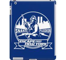 Snake Plissken (Escape from New York) Badge Transparent iPad Case/Skin