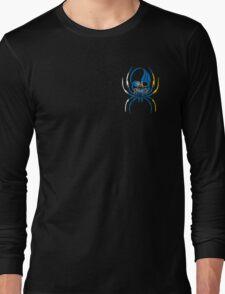 CANARY ISLAND SPIDER SKULL FLAG OCEANO  Long Sleeve T-Shirt