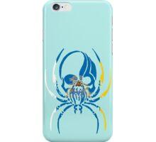 CANARY ISLAND SPIDER SKULL FLAG OCEANO  iPhone Case/Skin