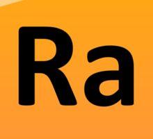 Radium Periodic Table Element Symbol Sticker