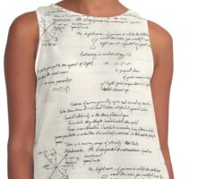 Time is a Moving Image of Eternity Contrast Tank