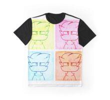 Multi-Color Kato Graphic T-Shirt