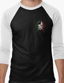 ITALY SPIDER SKULL FLAG  Men's Baseball ¾ T-Shirt