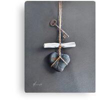 Trompe Lóeil - Intimate note Metal Print