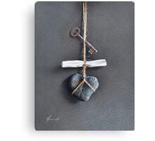 Trompe Lóeil - Intimate note Canvas Print