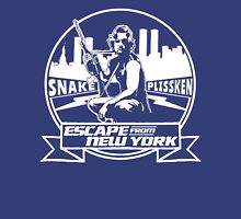Snake Plissken (Escape from New York) Badge Transparent Unisex T-Shirt
