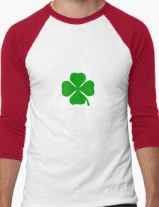 Quadrifoglio Alfa Fill Graphic Print Men's Baseball ¾ T-Shirt