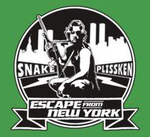 Snake Plissken (Escape from New York) Badge Kids Tee