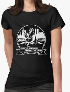 Snake Plissken (Escape from New York) Badge Womens Fitted T-Shirt