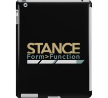Stance form > function (4) iPad Case/Skin