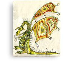 Tiff's Dragon Canvas Print