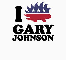 I Love Gary Johnson Womens Fitted T-Shirt
