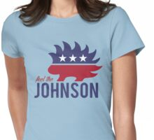 Feel the Johnson Womens Fitted T-Shirt