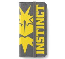 Vertical Team Instinct iPhone Wallet/Case/Skin