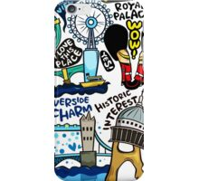 I Love London 578 iPhone Case/Skin