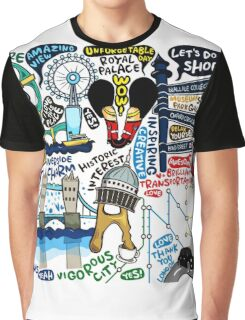 I Love London 578 Graphic T-Shirt
