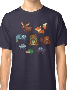 Woodland annimals Classic T-Shirt