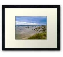 Golden Bay Framed Print