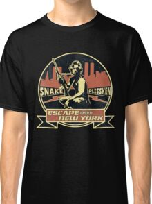 Snake Plissken (Escape from New York) Badge Vintage Classic T-Shirt