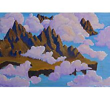 Mountains in the Clouds Photographic Print