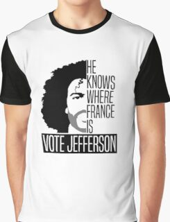 Vote For Jefferson Graphic T-Shirt