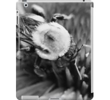 Black and White Bumble iPad Case/Skin