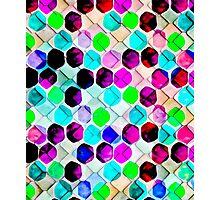 Irregular Hexagons #redbubble #lifestyle Photographic Print
