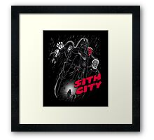 Sith City (Colab with Andriu) Framed Print