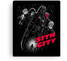 Sith City (Colab with Andriu) Canvas Print