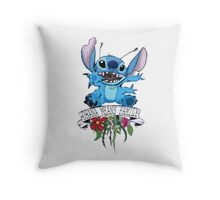 Lilo and Stitch - Ohana Means Family Throw Pillow