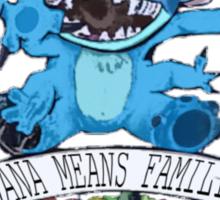 Lilo and Stitch - Ohana Means Family Sticker