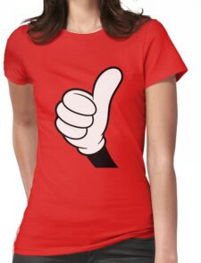 Cool Thumbs up Womens Fitted T-Shirt