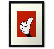Thumbs Framed Print