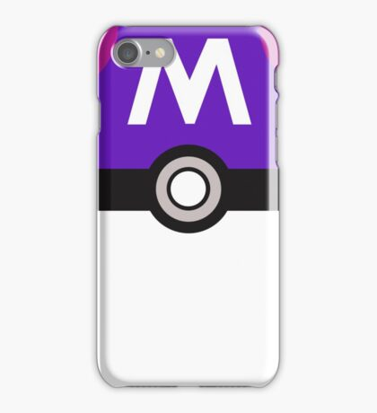 Master Ball (Pokemon Go) iPhone Case/Skin